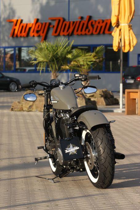 Harley Davidson Iron  Tire Pressure