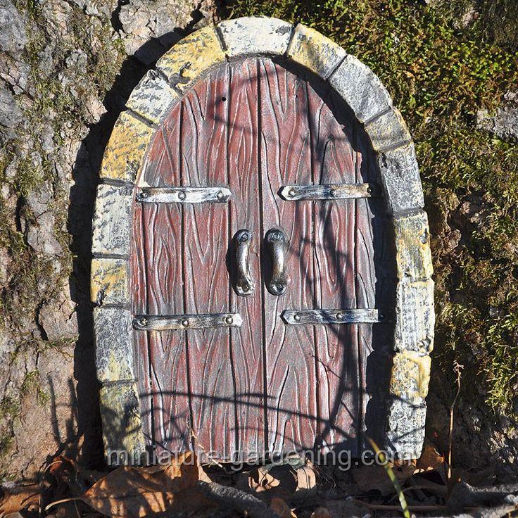 Gnome Door Double Doors & 410 best Fairy Doors/Windows/Furniture images on Pinterest | Fairies ...