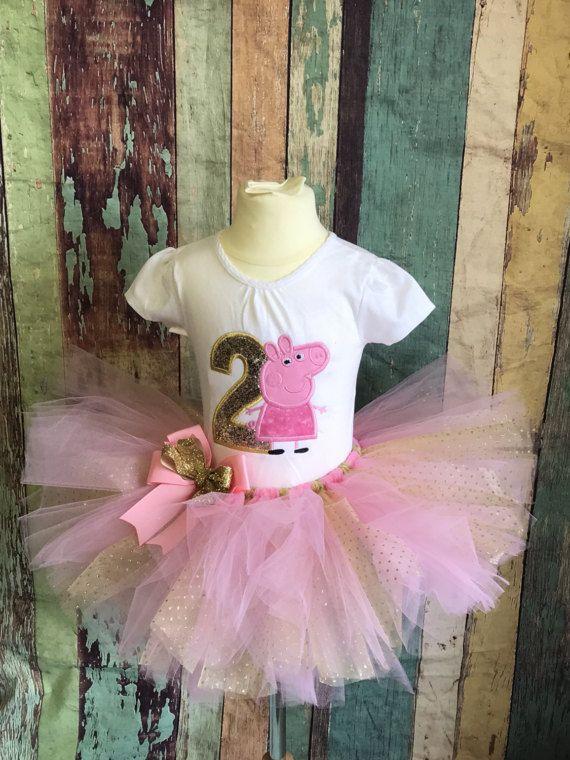 Peppa Pig anniversaire tenue-Peppa Pig-Peppa Tutu-tenue