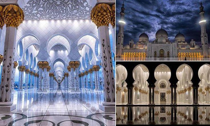 capolavori dell'architettura islamica – un tour mozzafiato nella moschea sheikh zayed di abu dhabi - Dagospia