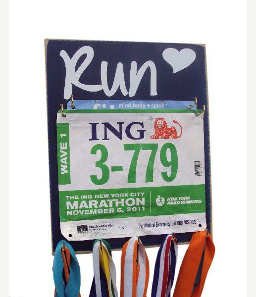 race bibs holder  Holder for race bibs with 5 by runningonthewall, $33.99