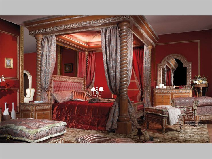 Кровати с балдахином купить в Москве с доставкой Спальни производство Италия, Испания, Голландия