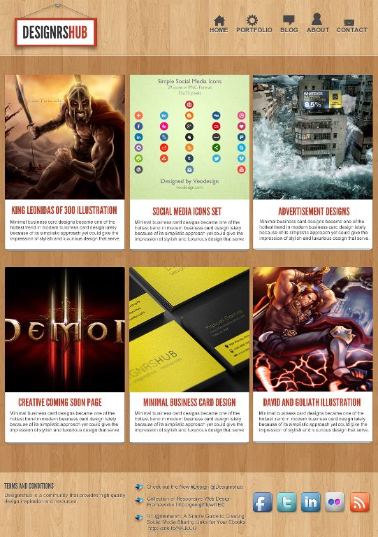 How to Create an Awesome Web Portfolio Layout in Photoshop