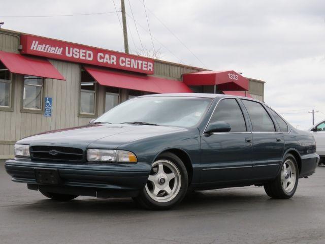 pin by hatfield used car center on 1995 chevrolet impala ss rh pinterest com