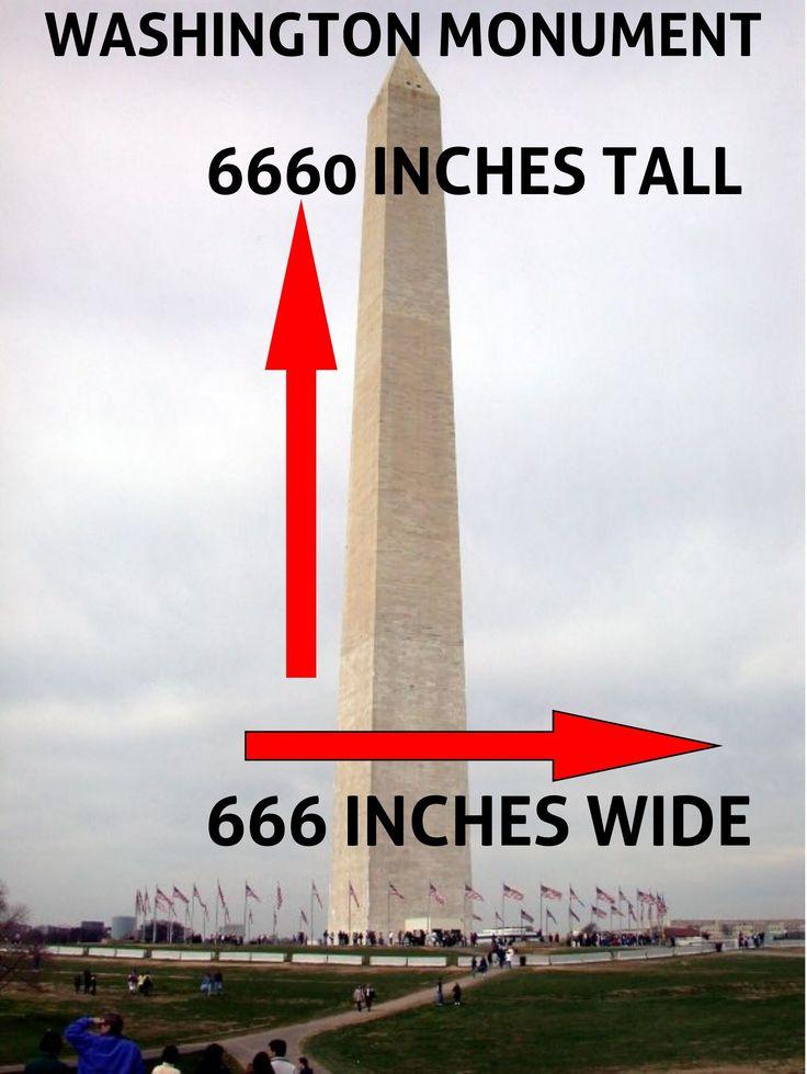 Bildergebnis für washington monument 666 inches