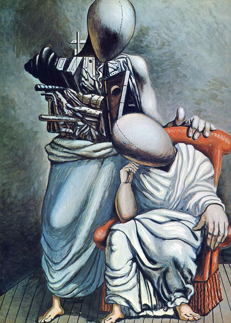 The One Consolation — Giorgio de Chirico
