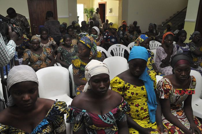 See Faces of Some of the 82 Released Chibok Girls (Photos)