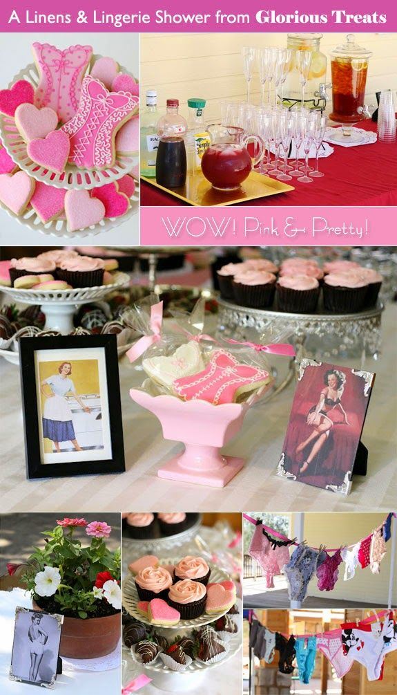 bridal shower themes for spring%0A Wedding Shower Decoration  Lovely Wedding Shower Themes to Choose From   Lingerie Theme  Read