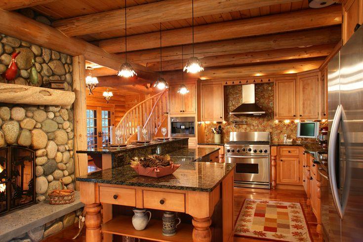 Rustic Kitchen Cabin Fever Pinterest