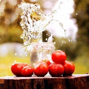 Консервування помідорів: Мариновані помідори з виноградом