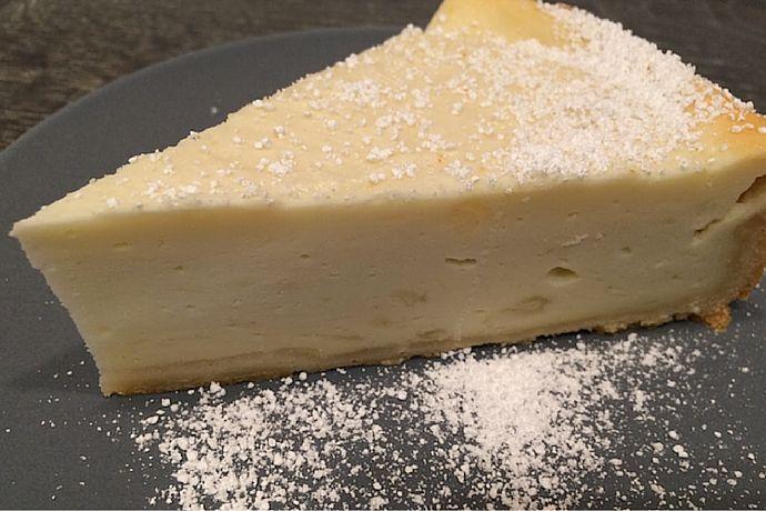Du suchst ein einfaches & schnelles Rezept für Käsekuchen ohne Ei? Hier findest Du es :-) Viel Spaß beim Nachbacken | Jules Bakery