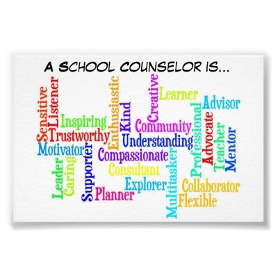 """A School Counselor is.."" Poster by SCCCorner"