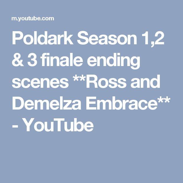 Poldark Season 1,2 & 3 finale ending scenes **Ross and Demelza Embrace** - YouTube