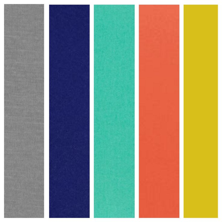 Wedding colors grey, coral/tangerine (maybe), navy/plum, bluegreen/teal, and grey.