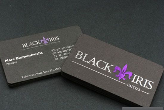 Get Hot Foil Stamping Amazing Business Cards Printing Ideas Toronto Canada
