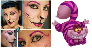 Makeup Artist Cairns Alice Returns Makeup Created by Makeup Artistry Cairns ~ http://makeupartistrycairns.com.au #CheshireCat #Makeup #Brows