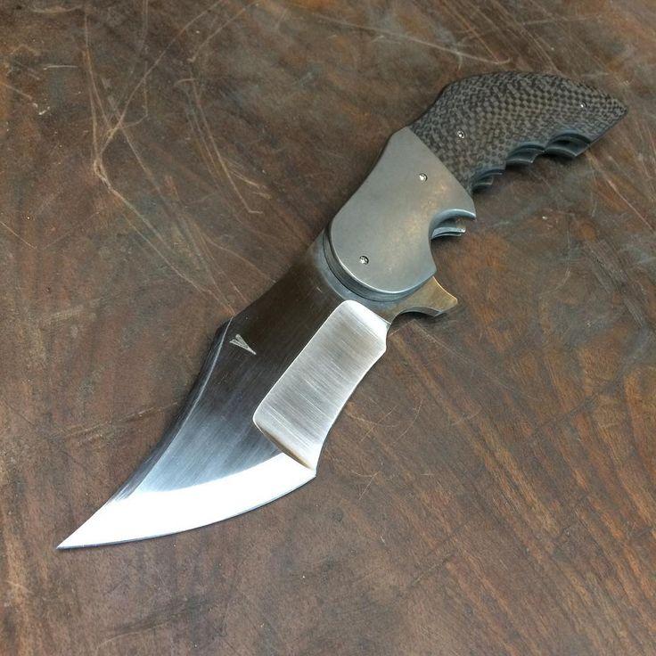 #jeffvdoublehomicide for #bladeshow2017 #handmadeknives #edcknife #knifestagram #knifecommunity #usnstagram #rwl34
