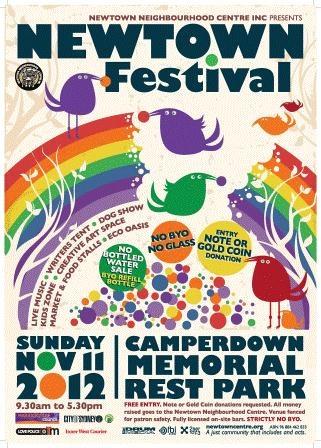 Newtown Festival flyer