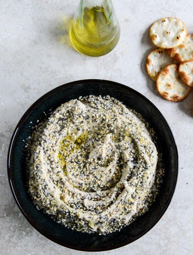 Everything White Bean Hummus I howsweeteats.com