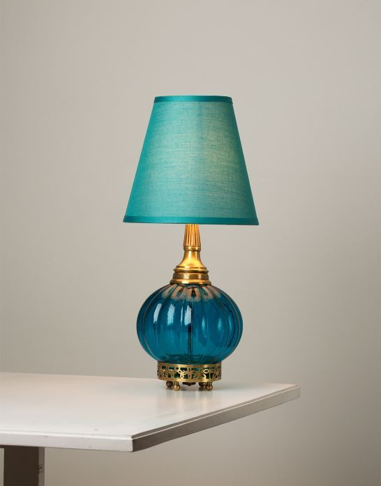 MELON lampe turkis