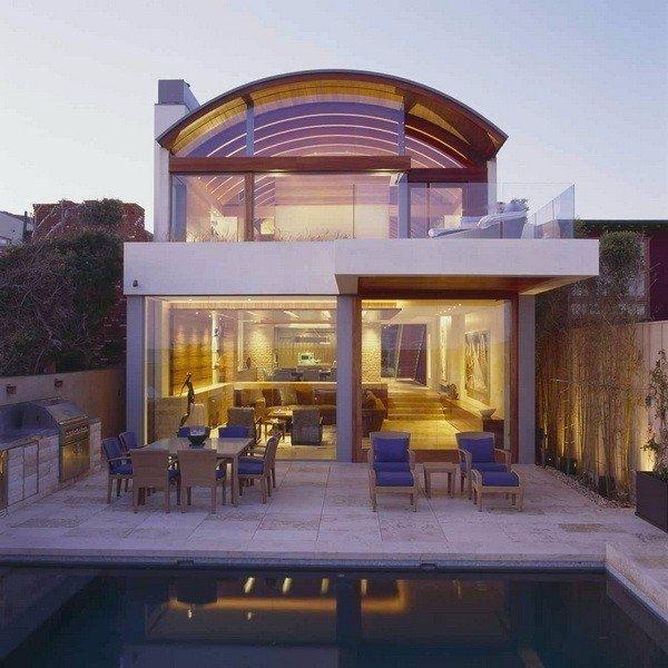 Дом на берегу океана, в штате Калифорния, США. - Дизайн интерьеров | Идеи вашего дома | Lodgers