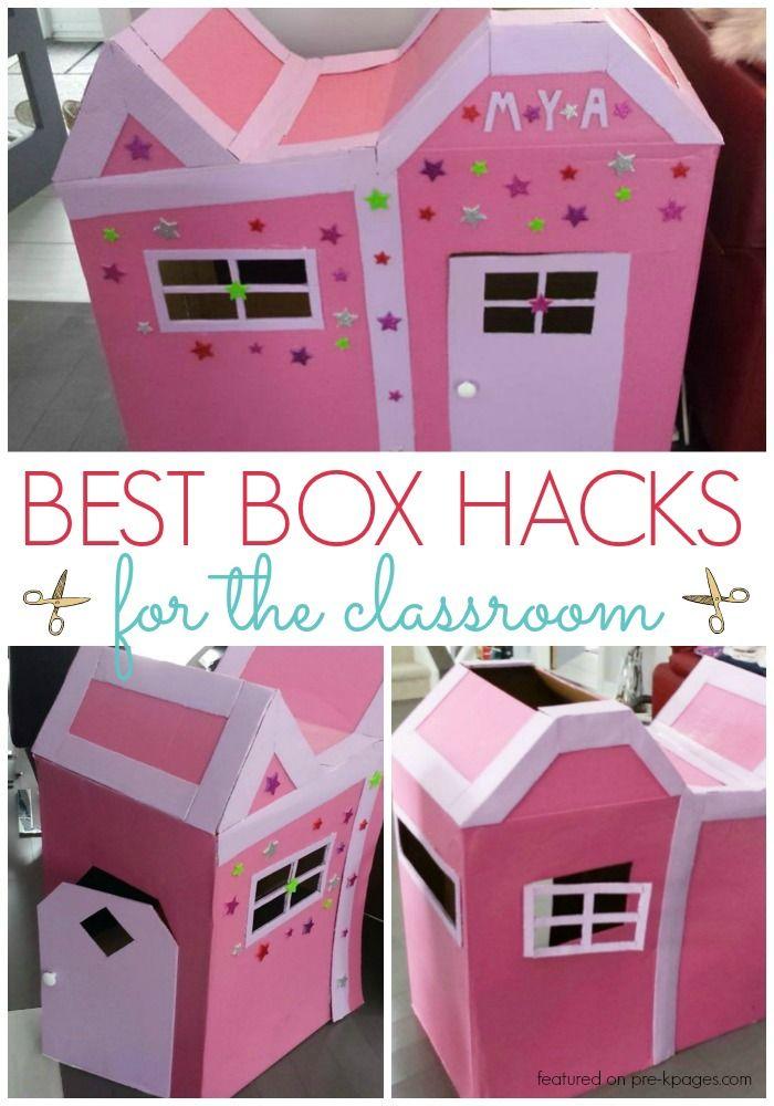 81 best BOX IDEAS for Preschool images on Pinterest ...