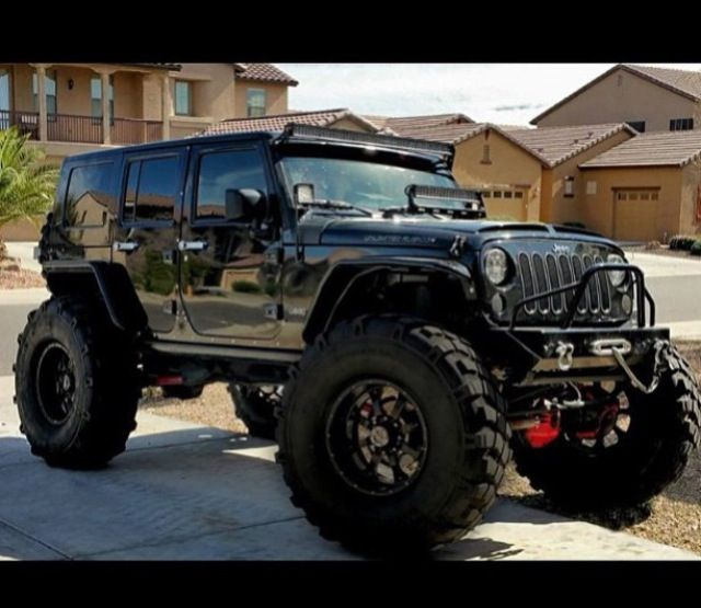 Black Bad Ass Jeep Jk Jeeps Pinterest Jeep Jk Jeeps