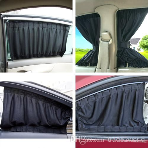 Aluminum Rail Car Curtains Upgraded Uv Protection Side Window Curtains Car Diy Curtains Tailored Car Sun Blinds The Car Shade From Trade2world, $18.09| Dhgate.Com