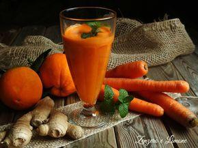 L'orange drink è un buonissimo centrifugato a base di carote, arance, zenzero e mela. Un vero concentrato di salute e vitamine.