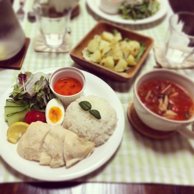 とっても簡単で美味しい❤︎ステキなレシピありがとうございます‼︎ ❃シンガポールライス ❃ローズマリーポテト ❃ピリ辛トマトの春雨スープ - 70件のもぐもぐ - tomocarat.さんの料理 炊飯器で作るシンガポールチキンライス by EMIRI