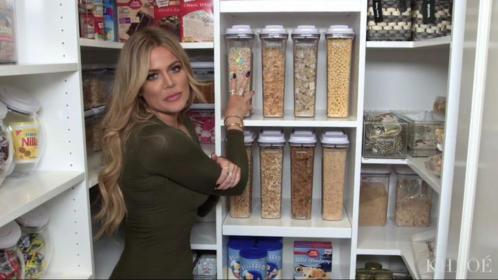 How To Organize Your Pantry Like Khloe Kardashian S