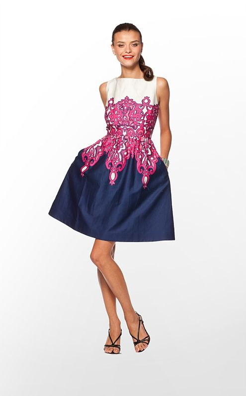 Love this.  I want to wear it to the races in Saratoga with a giant hat! Lilly Pulitzer $198