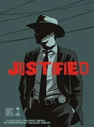 Justified season 6 poster