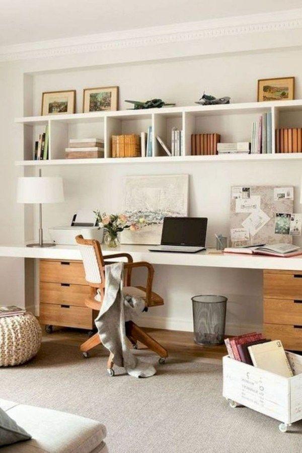 55 Incredible Diy Office Desk Design Ideas And Decor En 2020 Con