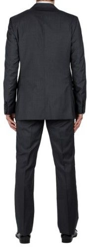 Prada Men's Pure Virgin Wool Pinstriped Two-Button Suit Grey