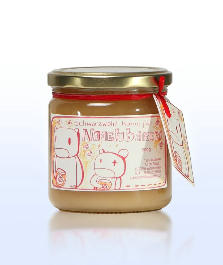 Genuine Black Forest honey for bears of all sizes. Buy this tasty lime tree honey direct from your Black Forest bee keeper.