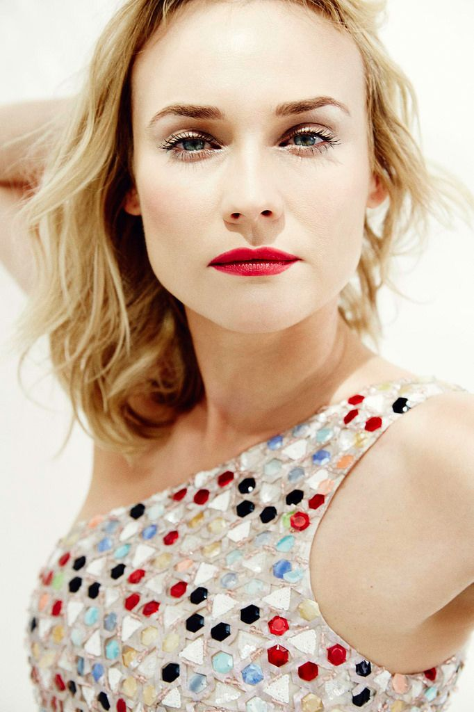Diane Kruger in Grazia Italia 2014 by Esther Haase