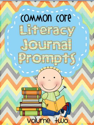 Crazy for First Grade: Classroom Pictures and Literacy Prompts