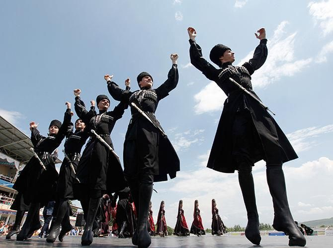 Дагестанская обувь национальная мужская