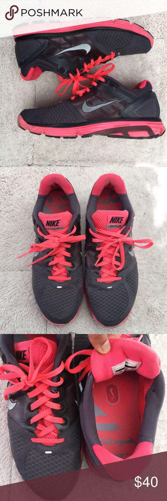 Nike Lunarglide 2 Preloved but in great condition regardless! Make an offer! Nike Shoes Sneakers