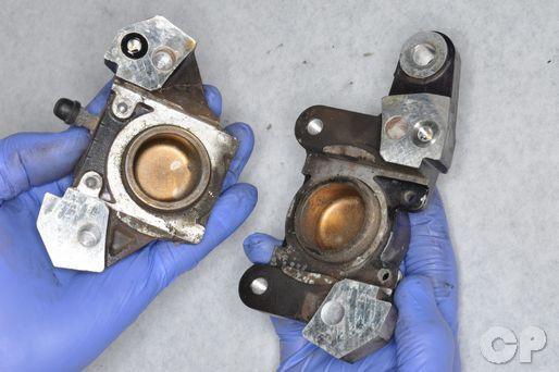 GSX600F Suzuki Katana 600 GSX 750 Online Repair Manual Rear Brake Caliper