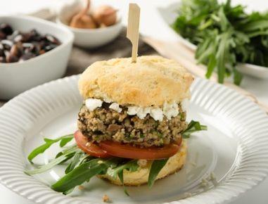 Vegetarischer+Burger+mit+Käferbohnen