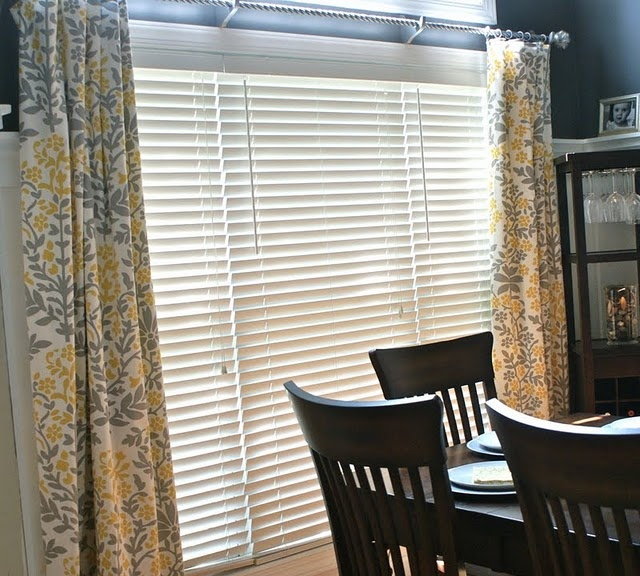 tablecloth curtain: Tables Clothing, Dark Blue Wall, Bedrooms Makeovers, Tablecloths Curtains, Yellow And Gray Curtains, Target Tablecloths, Awesome Ideas, Clothing Curtains, Diy Projects