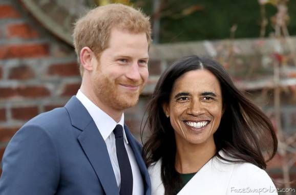 Harry And Meghan Obama Funny Face Swap Face Swap Fails Face Swaps