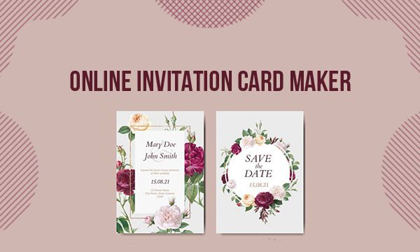 Online Invitation Card Maker Tool To Create Captivating Invitations Online Invitation Card Invitation Card Maker Online Card Maker