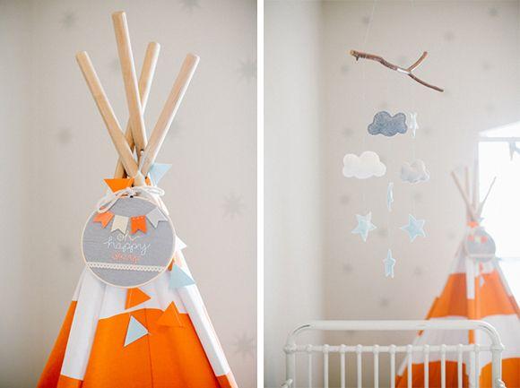 La chambre bébé d'Hugh