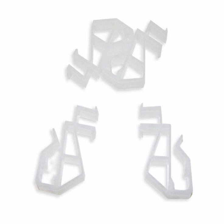 Home Decorators Collection 2 In And 2 5 In Cordless Faux Wood Blind Hidden Valance Clips 4 Pieces 10793478403103 The Home Depot Faux Wood Blinds Faux Wood Home Decorators Collection