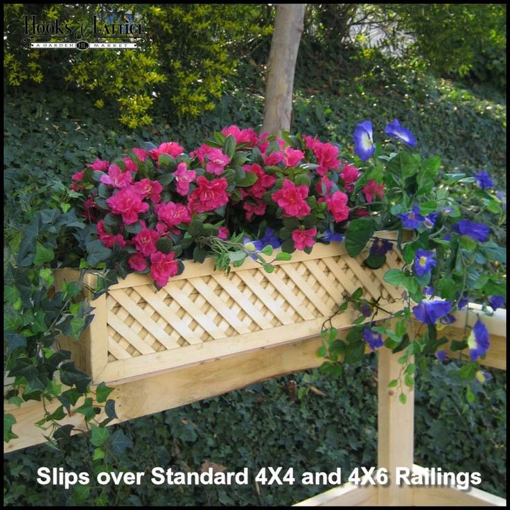 Flower Container Design For Railings: Best 25+ Deck Railing Planters Ideas Only On Pinterest