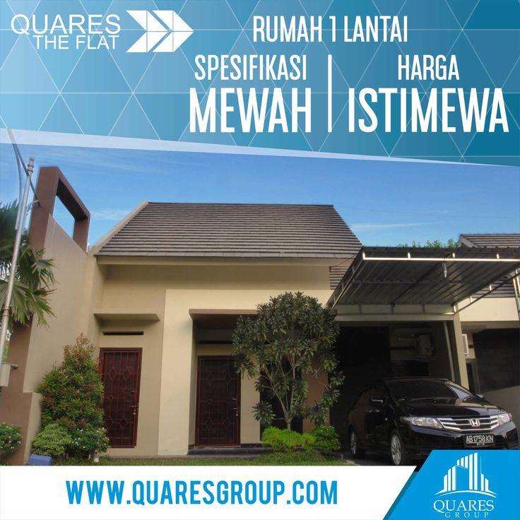 Beli Rumah Satu Lantai, Spek Mewah Harga Istimewa. Perumahan Quares The Flat merupakan perumahan 1 lantai dengan konsep minimalis berada di area lingkungan tropis, tepatnya di desa Cikalan Bangunj...