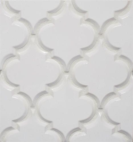Beveled Arabesque White Tile!!  Http://store.missionstonetile.com: Backsplash Tile, White Tile, Arabesque Tile, Back Splash, Kitchens Tile, Beveled Arabesque, Kitchens Backsplash, Wall Tile, White Kitchens